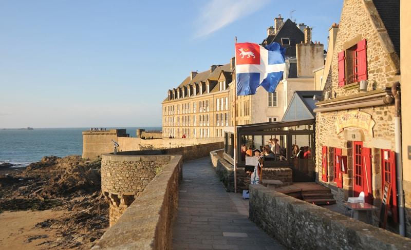 Restaurant Corps de Garde à Saint-Malo