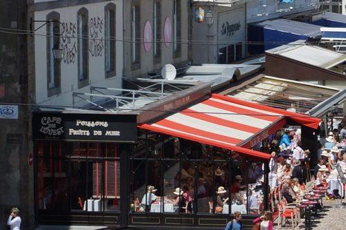 Café de l'Ouest à Saint-Malo