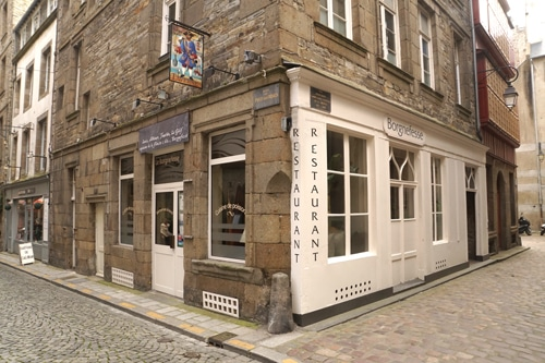 Restaurant Le Borgnefesse à Saint-Malo