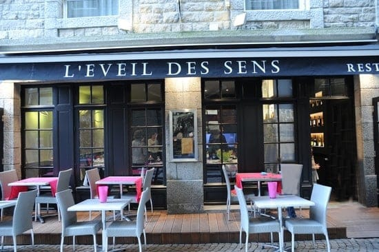 Restaurant L'éveil des sens à Saint-Malo