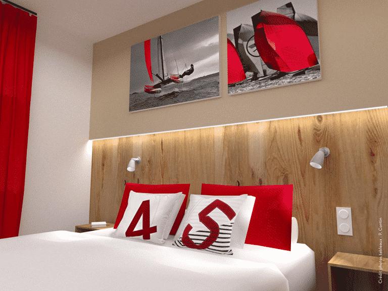 Nouvelle chambre de l'hotel