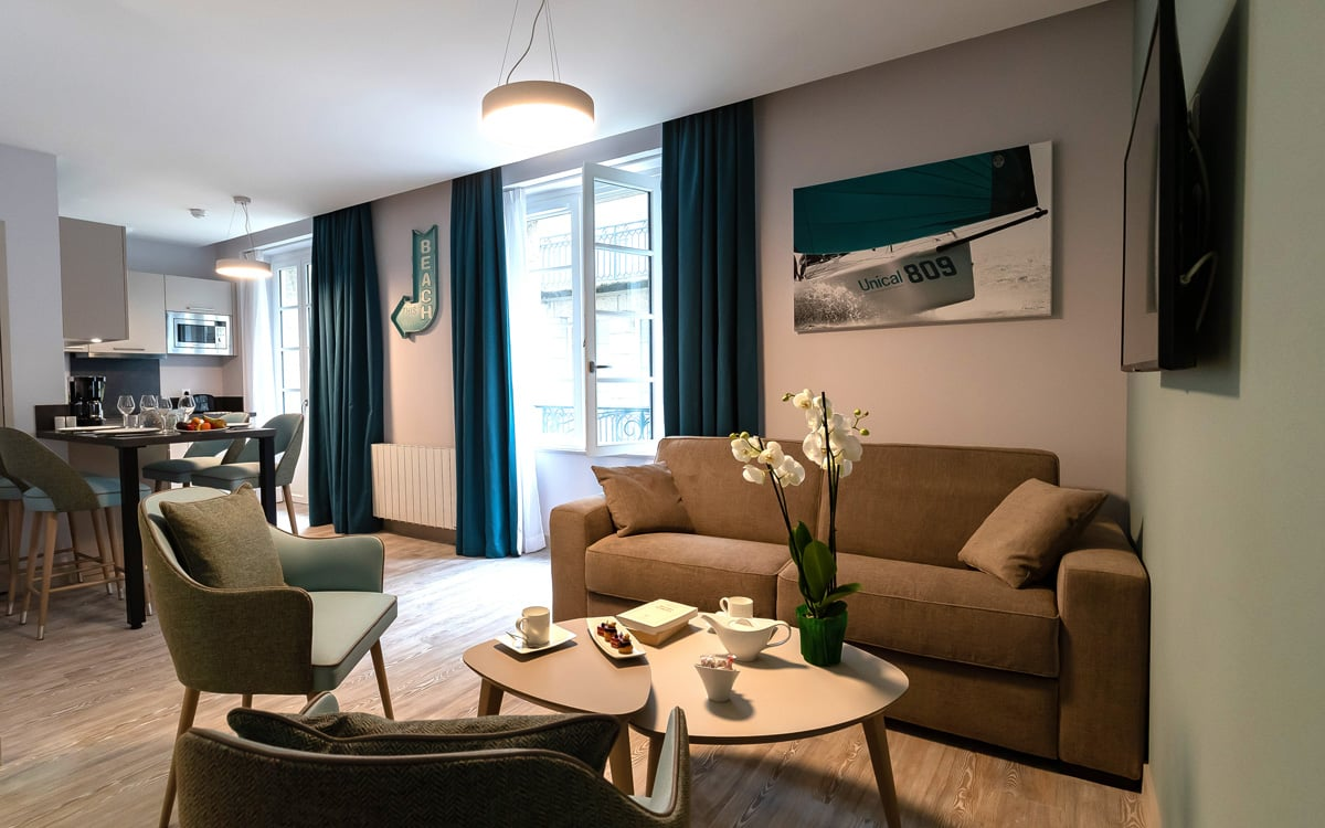 Appartement dans vieille ville de à Saint-Malo