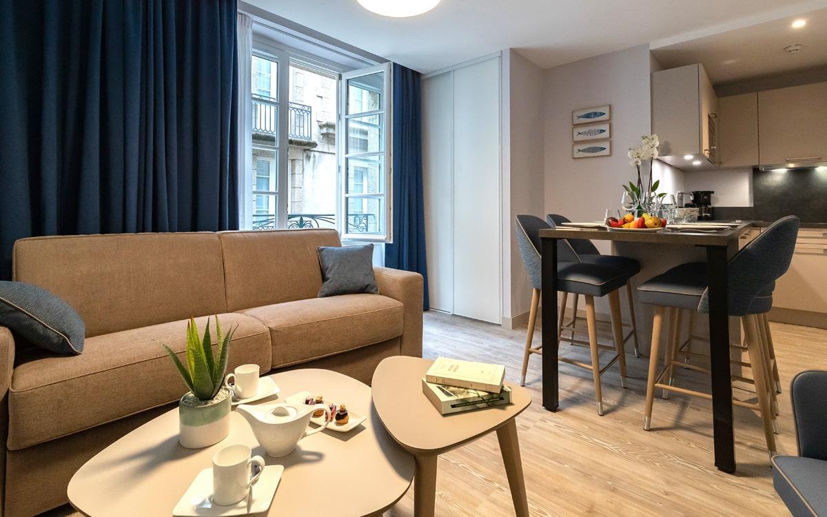 Appartement à Saint-Malo intramuros