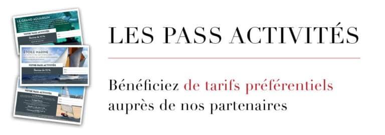 Les Pass Activités - Hôtel des Marins